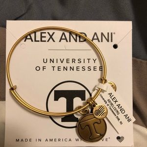 Alex and Ani University of Tennessee bracelet